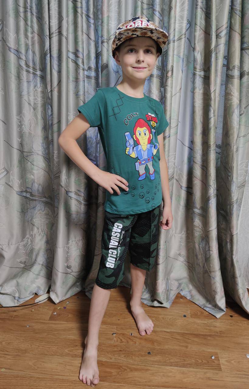 Детская футболка для мальчика бравл старс brawl stars