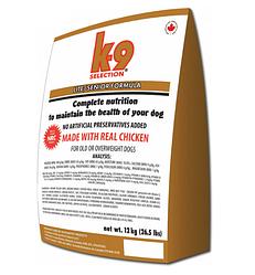 Корм K9 Selection Lite Senior Formula диетический для пожилых собак злаки и мясо 12 кг
