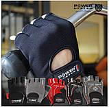 Перчатки для фитнеса PowerSystem PRO GRIP EVO PS-2250E BLACK  размер L, фото 4