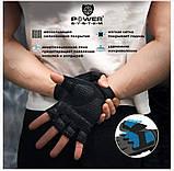 Перчатки для фитнеса PowerSystem PRO GRIP EVO PS-2250E BLACK  размер L, фото 6