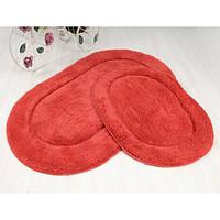 Набор ковриков в ванную Irya Blanco терракот 60*100 + 45*60