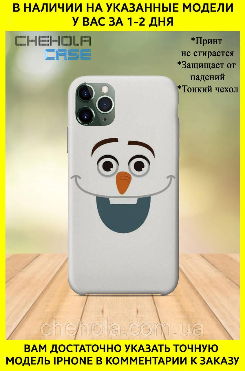 Чехол для iphone 11 Pro Max Pro Мультфильмы Снеговик