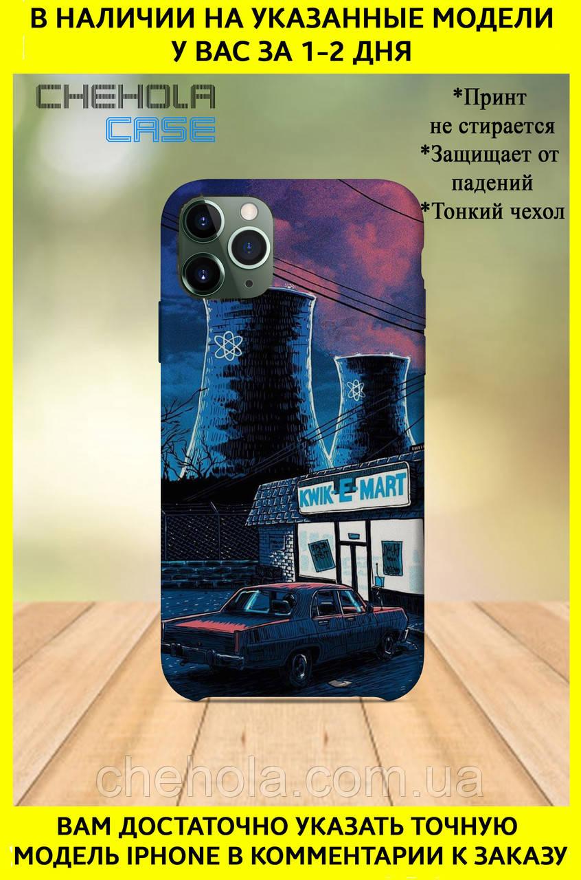 Чехол для iphone 11 Pro Max Pro Мультфильмы Симсоны