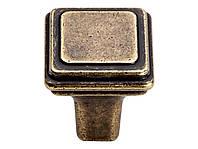 Ручка кнопка Gamet GR38-G0035 античная бронза