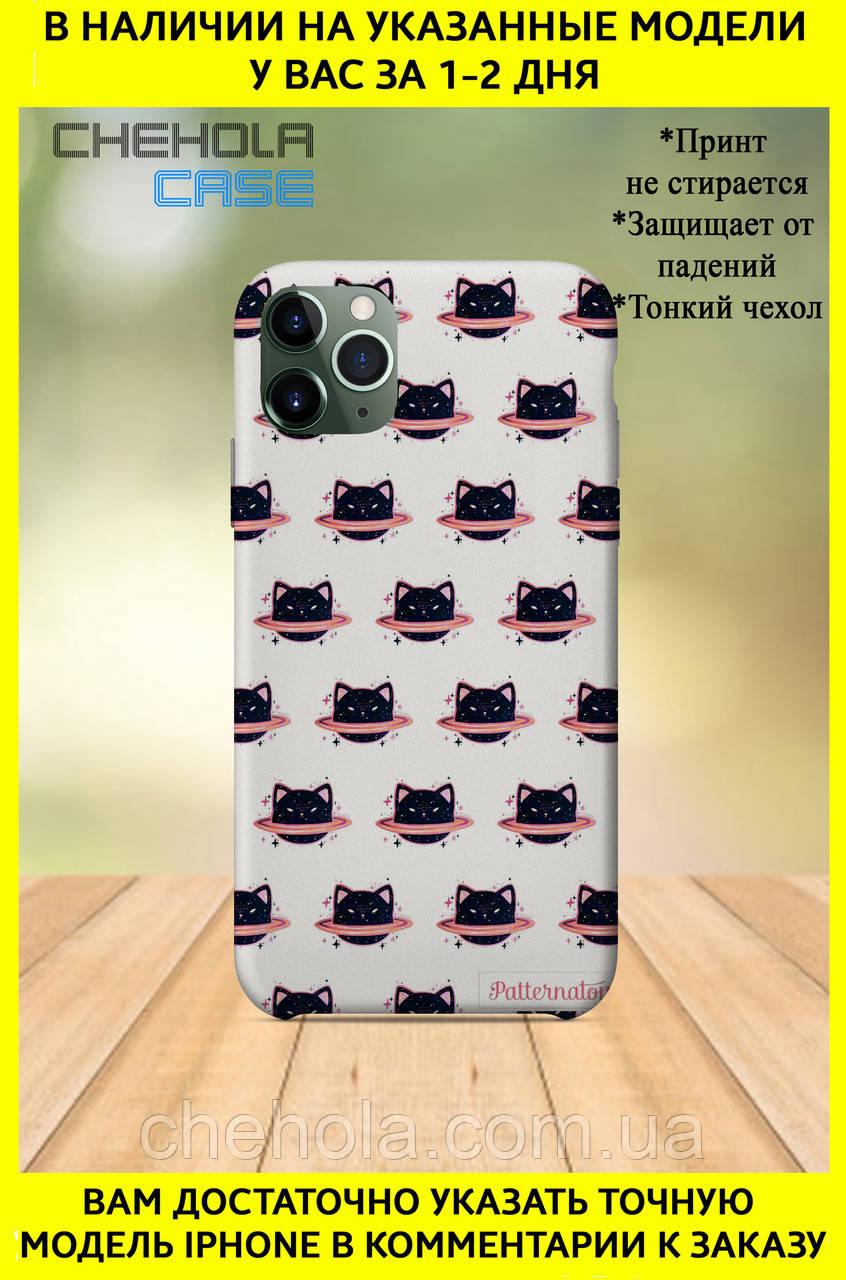 Чехол для iphone 11 Pro Max Pro Милые Для Девочек Черный кот
