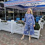 Брюки кюлоты и блузон прогулочный костюм из тонкой ткани, фото 2