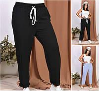 Р 50-60 Жіночі літні штани Батал 21937, фото 1