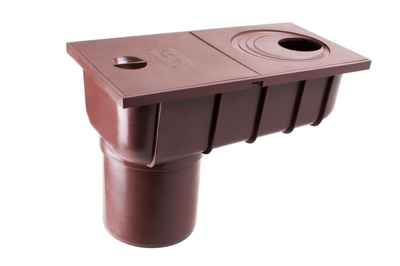Колодец ливневой с прямым сливом 75, 100 мм 90/75 Profil