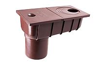 Колодец ливневой с прямым сливом 75, 100 мм 90/75 Profil, фото 1