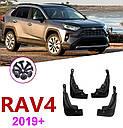 Брызговики MGC TOYOTA RAV4 XA50 Америка 2019+ г.в. комплект 4 шт PK389-42K00-EP, фото 4