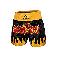 Шорты для тайского бокса Adidas Fire Design (ADISTH03)