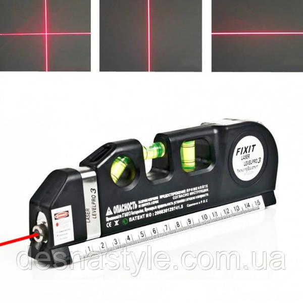 """Лазерный уровень со встроенной рулеткой Laser Level Pro 3: продажа, цена в Сумах. лазерные нивелиры, уровни от """"Desnastyle"""" - 1214529239"""