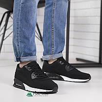 Кроссовки мужские черные 45р, фото 2