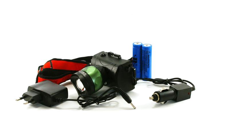 Фонарик налобный фонарь Police BL-6966 T6 50000W