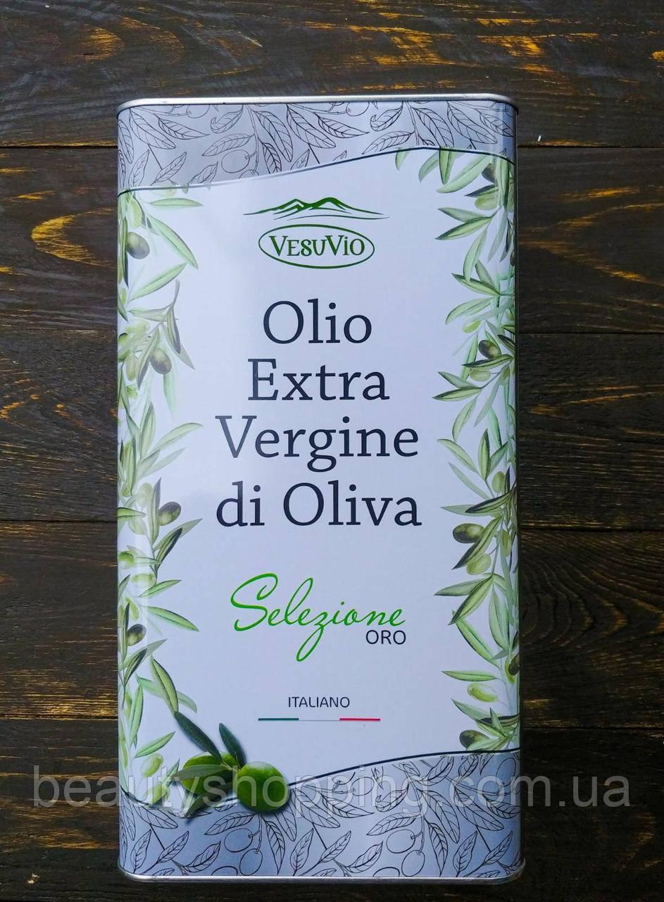 Olio Extra Vergine di Oliva Selezione Oro оливковое масло 5л Италия VesuVio