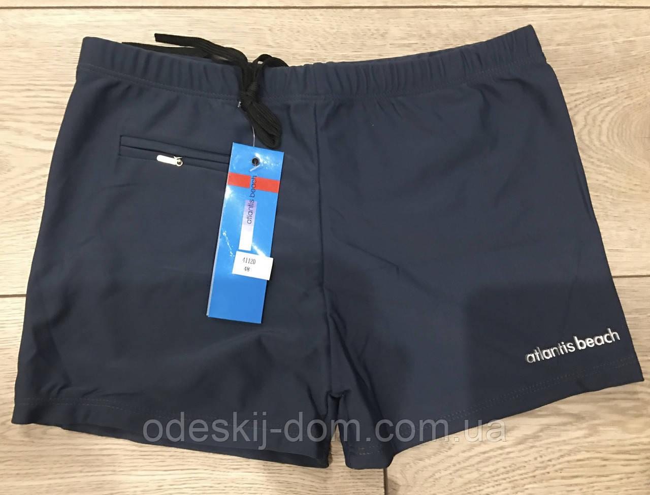 Чоловічі шорти для купання з кишенею на блискавці тм Atlantis beach