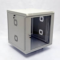 CMS UA-MGSWA126G Шкаф настенный 12U, 600х600х640 мм (Ш*Г*В), акрілове скло, серый UA-MGSWA126G