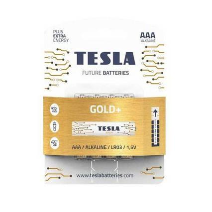 Батарейки TESLA AAA GOLD+ (LR03), 4 штуки