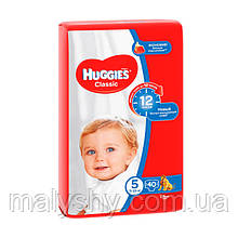 Подгузники Huggies Classic 5 (40шт.) 11-25кг JUMBO PACK (Хаггис Классик)