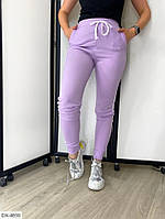 Летние трикотажные женские спортивные штаны арт 125