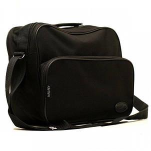 Сумка портфель мужская текстильная, фото 2