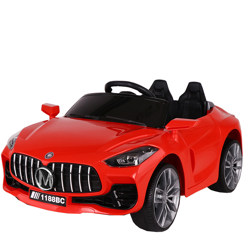 Детский электромобиль Tilly T-7651 EVA RED легковая Р/У 2*6V4,5AH мотор 2*15W