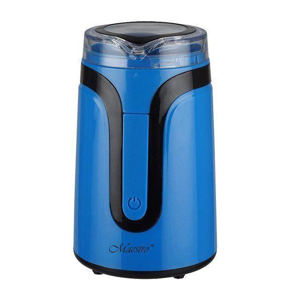 Кавомолка Maestro MR-450 синя   подрібнювач кави Маестро   апарат для помелу кави Маестро