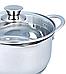 Кастрюля с крышкой из нержавеющей стали Maestro MR-3510-16 (1.6 л)   набор посуды Маэстро   кастрюли Маестро, фото 2