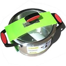 Кастрюля с крышкой из нержавеющей стали Maestro MR-3514-16 1.5 л набор посуды Маэстро кастрюли Маестро