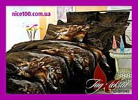 Полуторный комплект постельного белья 3D Полуторний комплект постільної білизни 1.5-спальный BP040