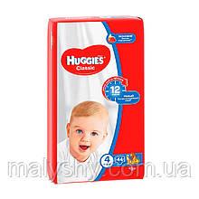 Подгузники Huggies Classic 4 (44шт.) 7-18 JUMBO PACK (Хаггис Классик)