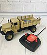 Машина военная на радиоуправлении БЕЖЕВАЯ арт. 869-66, фото 3