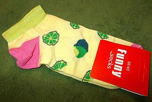 Носки короткие с рисунками Funny №2 размер 36-40