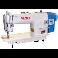 Gemsy GEM88001E-B прямострочная машина с увеличенным челноком и прямым приводом