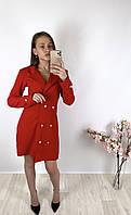 Женское красное платье пиджак PrettyLittleThing, оригинал, Великобритания, размер M(38)