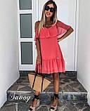 Платье женское нарядное молоко , чёрный , сирень , коралл, фото 2