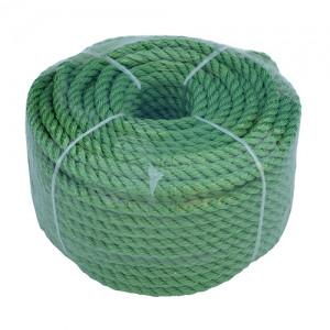 Веревка полиестер 8mmx30m зеленая