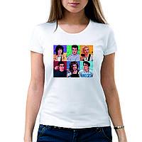 Футболка Друзья Friends. Печать на футболках.