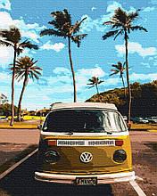Картина по Номерам Транспорт хиппи 40х50см RainbowArt