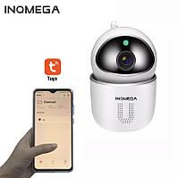 Домашняя Ip-camera INQOMEGA видеоняня детская поворотная ночной режим