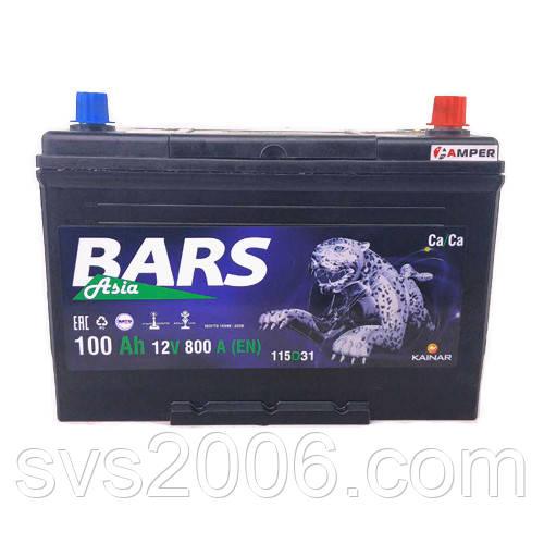 АКБ 6СТ-100 R+ (пт 780) BARS