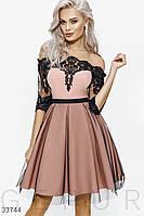 Женское изящное ажурное платье С М Л M