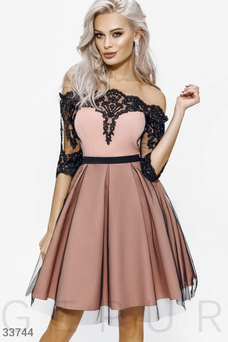 Женское изящное ажурное платье С М Л K