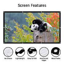 "Экран для проектора  100"", фото 2"