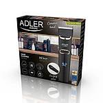 Машинка для стрижки волос Adler AD 2832 Черный с серым, фото 5