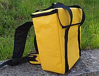 Терморюкзак для доставки еды 35*20, высота 40. Желтый