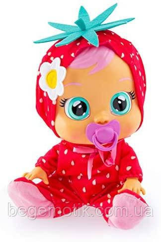 Интерактивная Кукла плакса IMC Toys Cry Babies ELLA Тутти Фрутти Пупс Плачущий младенец Элла Клубничка