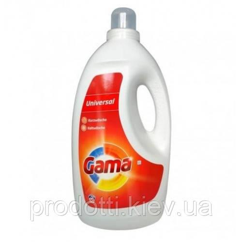 Гель для прання Gama Універсальний, 3.25 мл 50прань