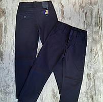 Дитячі джинси 11-15 років для хлопчиків шкільні сині Туреччина оптом