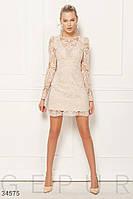 Женское мерцающее платье с глубоким декольте ХС С М Л M
